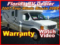 2007  THOR MOTORCOACH Four Winds Siesta 26BE