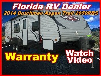2014  THOR MOTORCOACH Dutchmen Aspen Trail 2650RBS