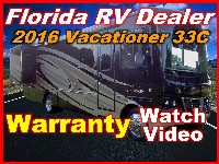 2016  Holiday Rambler Vacationer 33C