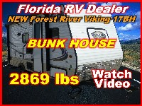 2017  Forest River Viking Ultra Light 17BH