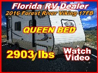 2016  Forest River Viking Ultra Light 17FB