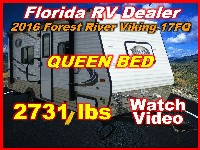 2017  Forest River Viking Ultra Light 17FQ