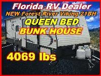 2017  Forest River Viking Ultra Lite Tandem Axle 21BH