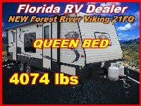 2017  Forest River Viking Ultra Lite Tandem Axle 21FQ