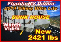 2014  Forest River Viking Ultra Light 16B Bunkhouse